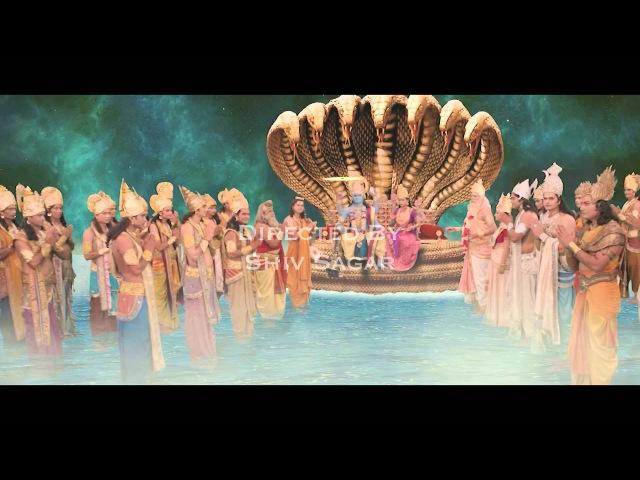 Arasuri Maa Ambe Promo, Тарун Кханна (Шива), Теж Сапру (Дакша)