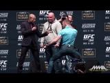 UFC 194- Jose Aldo vs. Conor McGregor Staredown|vk.com/notoriousmcgregor