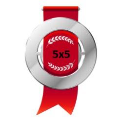 Серебряная медаль Открытого кубка 5х5