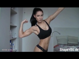 Hot Fitness Girl Bikini Model Legs and Hips Workouts Female Fitness Motivation 2016