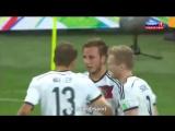 Германия- Аргентина 1-0 Гол Гетце ЧМ 2014 ФИНАЛ