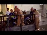 Валентино Росси упал во время тестов Катаре
