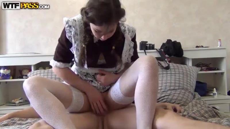 Трахнул сладкую после школы (домашнее, секс, порно, раком,