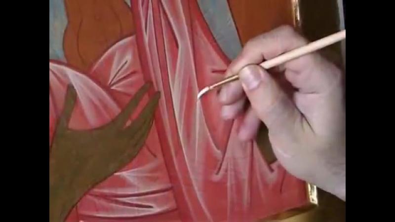 Dipingere licona dell Arcangelo Michele - schiarimenti