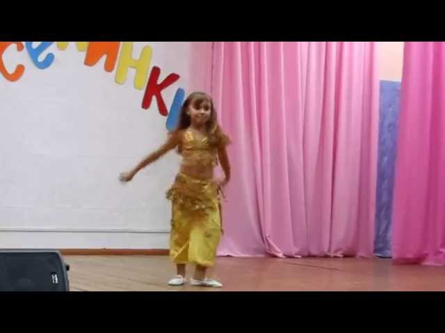 Восточный танец Ариана 6 лет