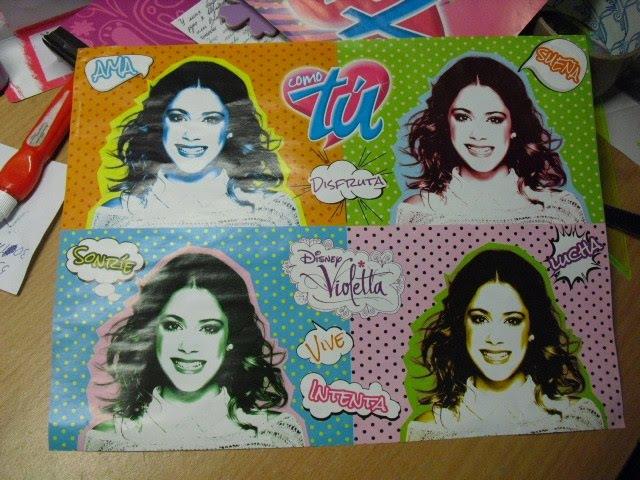 Mi posters con Violetta | Мои постеры с Виолетта