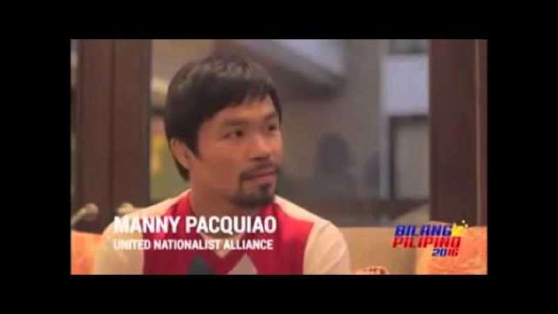 a religious filipinos perspective on the opinion of manny pacquiao on the issue of same sex marriage Manny pacquiao quotes leviticus: gays should be 'put to what i said is i'm not in favor of same-sex marriage religion, homophobia, manny pacquiao must.