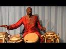 Pape Samory Seck Solo Djembe Sabar Jazz, Afrika Senegal