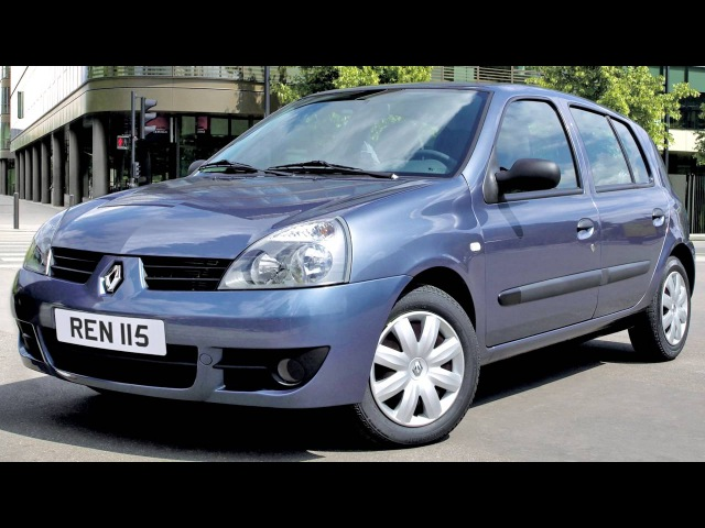 Renault Clio Campus 5 door '2006–09