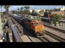 Amtrak Metrolink HD 60 FPS: Action @ Fullerton w/ BNSF GE AC4400CW 5613 on Metrolink (3/6/16)