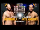 Бен Ротвелл против Джуниора Дос Сантоса Ben Rothwell vs Junior Dos Santos