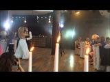Очень красивый свадебный танец! нежная румба Артема и Юлии