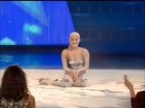 Ева Шиянова, танец в муке