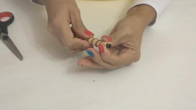 Krika.com - Aprenda a fazer uma linda caneta decorada