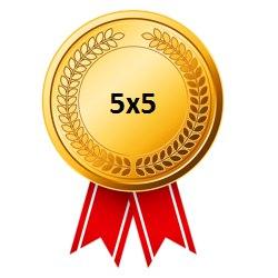Золотая медаль Кубка лиги 5х5