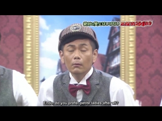 (ENG SUBBED) Gaki no Tsukai #SP (2015.12.31) - No-Laughing Detective Batsu Game Part 1 (絶対に笑ってはいけない名探偵24時)
