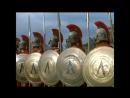 300 спартанцев (1962). Первый бой в Фермопильском ущелье