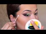 GWL.№ 7.Яркий Восточный макияж для азиатских глаз!Arabic make-up tutorial for asian eyes!