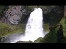 Видео релакс Шум воды большого водопада Video of Large Waterfall