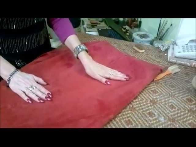 Как вернуть красивый вид замшевой поверхности одежды