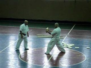 Тамесивари Федоишен и Бадюк / Tameshiwari Fedorishen & Baduyk