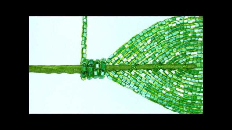 Амазонская лилия. Урок 14 - Укрепление листьев / Amazon lily. Lesson 14 - Reinforcement of leaves