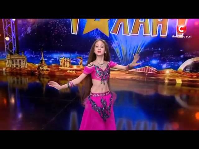 Маргарита Литвиненко восточный танец Україна має талант 8 Діти 09 04 2016