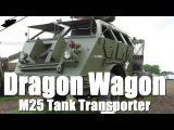 Dragonwagon M25 Tank Transporter Walkaround D-Day and the Battle of Normandy 2014