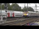 Treinen op station Antwerpen Berchem 6 augustus 2013