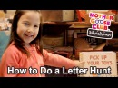 How to Do a Letter Hunt | Easy Tips for Smart Kids | Show Me How Parent Video