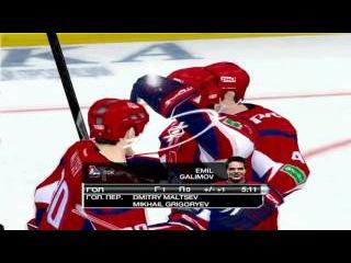 RHL 15 Online. Дружеская Игра КХЛ. Локомотив 3:4 (от) Салават Юлаев