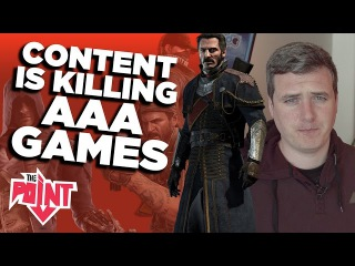 How Content is Killing AAA Games - The Point