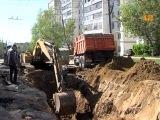 Ремонт «ямы» на улице Лебедева в Йошкар-Оле