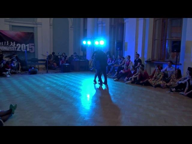 SwingFest 2015 Cabaret 12 Тарас Мельник и Виталия Бруханская