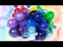 Inside Out Cake with Edible Gelatin Bubbles from Cookies Cupcakes and Cardio