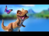 Dinosaur Animation - Cartoon for Children - PANGEA Movie Trailer