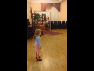 Алена Романова, 4 года, студия Sultana