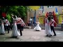 2016 г. Танец выпускников 9 класса на Последнем звонке в ОШ № 5 г.Красногоровка Донецкой обл.