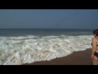Гоа.Аравийское море. пляж Кандолим.