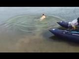 Вот это рыбалка поймал рыбу на свой член. Смешно до боли !!!