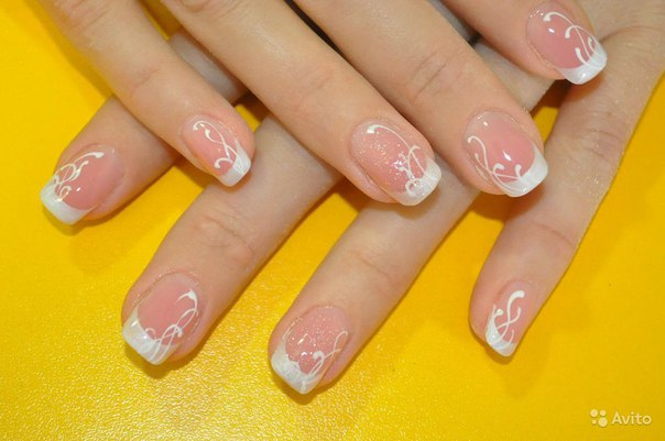 Образцы ногтей покрытых гель лаком