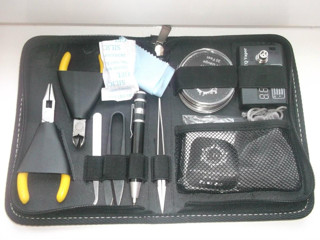 GearBest: Набор инструментов для любителя электронных сигарет (Original LTQ Vapor DIY RBA Tools Kit) + подставка под атомайзеры.