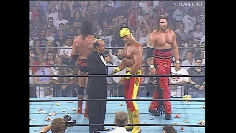 Hulk Hogan NWO formation interview, WCW Bash at the Beach 1996