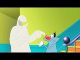 Огги и Тараканы - Огги и Человек из Муки (Oggy and the Flour Man/Oggy et l'homme-farine) 4-258
