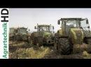 JOHN DEERE Traktoren im Schlamm Schlammschlacht Maishäckseln Claas Jaguar Fendt Traktoren