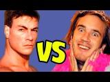 Вандам vs PewDiePie |GREENSCREEN !!