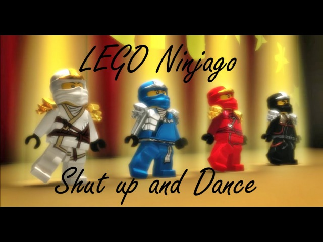 Shut up and Dance [Ninjago Music Video]