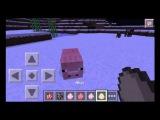 Как приручить животных в minecraft pe(0.10.0)Прохождение minecraft PE#2