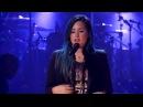 Demi Lovato - 'Nightingale' Speech - 2vLive HD 28 10 2013