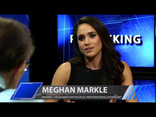 'Suits' Star Meghan Markle Discusses Her Advocacy for U N Women